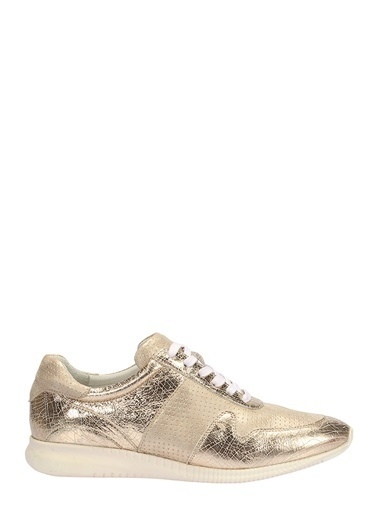 %100 Deri Sneaker Ayakkabı-İnci